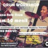[FOTO]: Workshop 30 Menit Belajar Not Drum