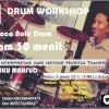 [FOTO]: Workshop 30 Menit Belajar Not Drum