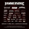 Hammersonic 2014 Full Line Up