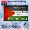 Aksi Solidaritas Musisi Aceh Untuk Palestina