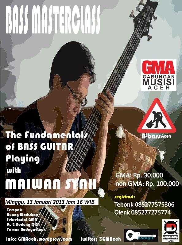 Poster Bass Masterclass Vertical
