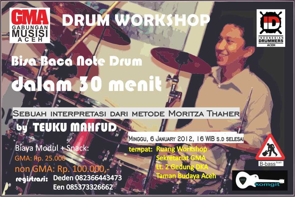 Workshop drum GMA