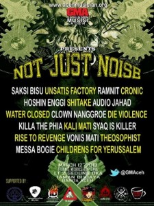 Poster Not Just Noise