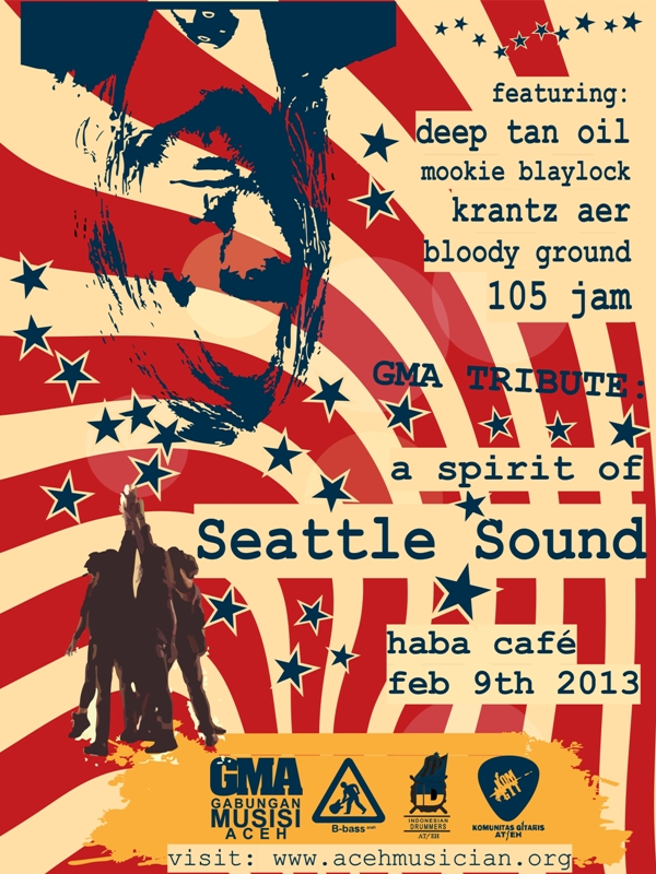 A Spirit of Seattle Sound Poster vertical