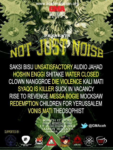 NOT JUST NOISE 11