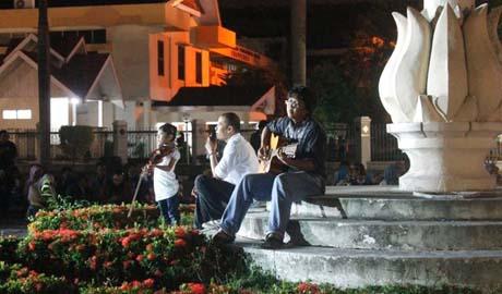 Icha, Jamal, donny Arief-istimewa