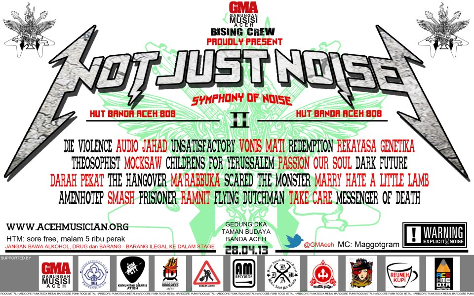 not just noise II final poster