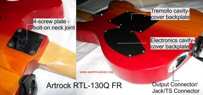 Artrock RTL130Q Back