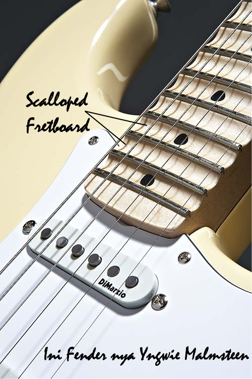 Scalloped Fretboard