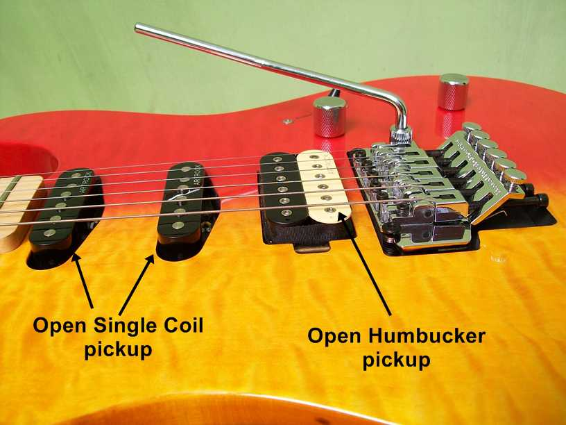 01 Open Humbucker and single