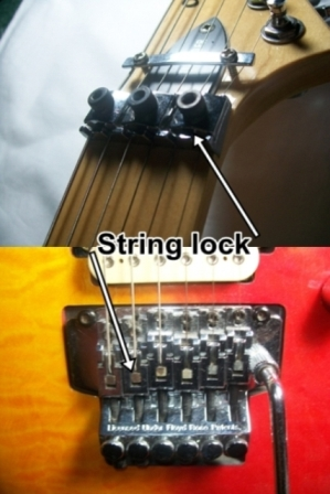 Double locking tremolo