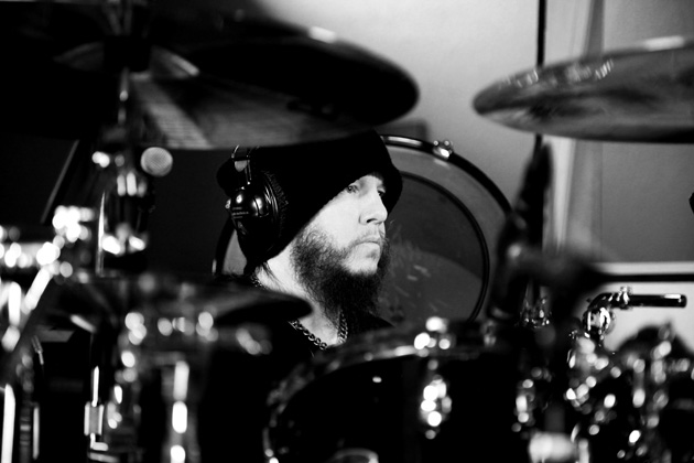 Joey Jordison, photo: Neil Zaugg
