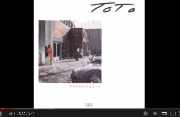 Toto Somewhere Tonight