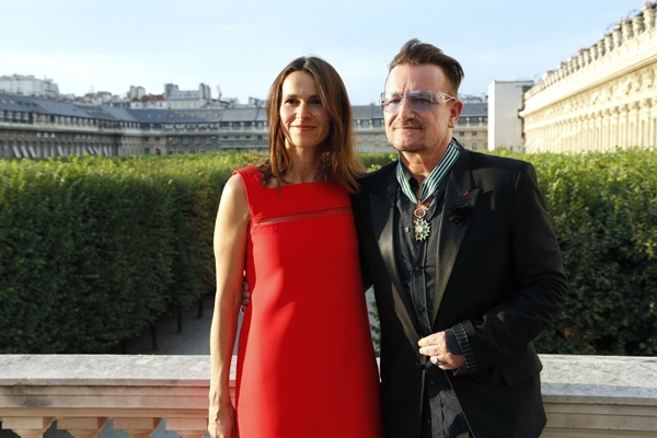 Bono dan Filippetti Source: FRANCOIS GUILLOT/AFP/Getty Images
