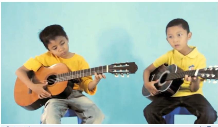 Farhan and Hibran from Sekolah Musik Moritza