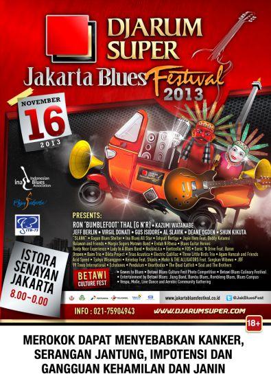 Jakarta Blues Festival 2013