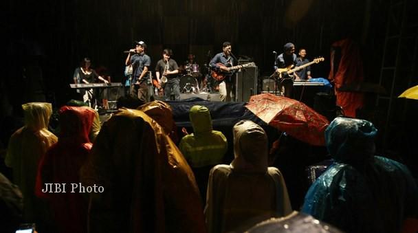 Ngayogjazz 2012 di desa wisata Brayut, Pendowoharjo, Sleman, Minggu (18/11/2012) . (JIBI/Harian Jogja/Desi Suryanto)