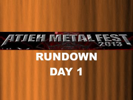 AMF RUNDOWN DAY 1