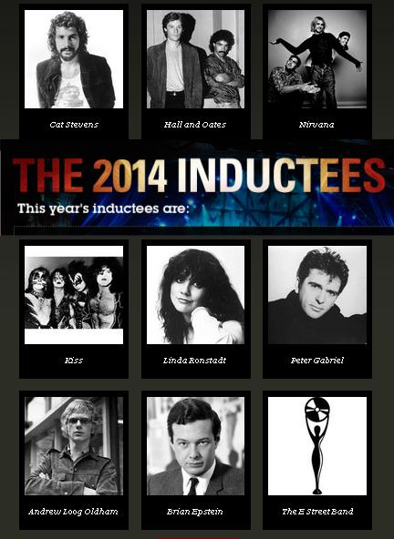 Rock n Roll Hall of Fame 2014