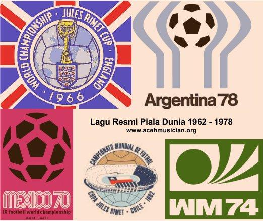 Lagu resmi piala dunia 62-78