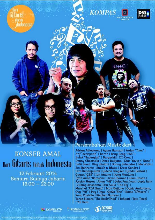 Dari GItaris Untuk Indonesia