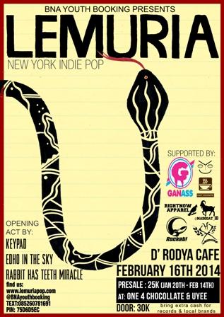 LEMURIA final flyer