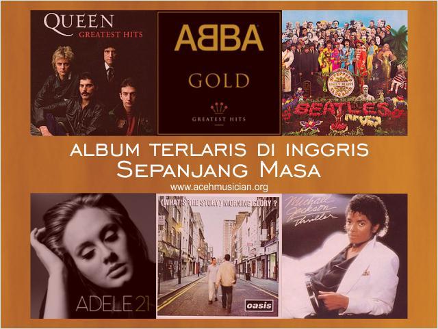 album terlaris inggris