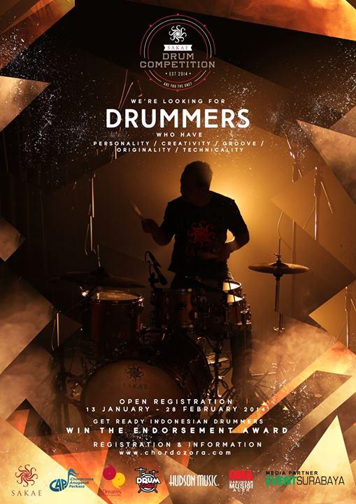 sakae drum competition baru