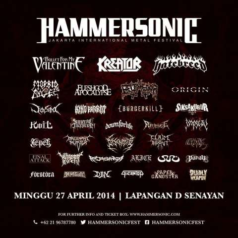 hammersonic 2014