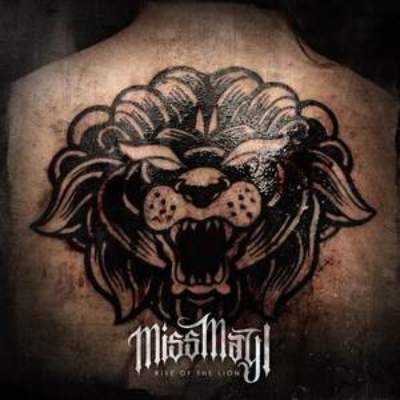 cover Miss May I - rise of the lion