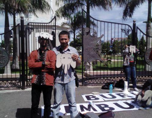 Putra & Mahfud @ Gerakan Indonesia Sahabat Gajah