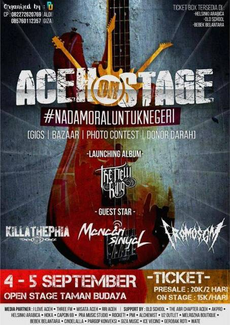aceh on stage poster