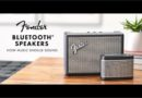 Fender rilis speaker blue tooth