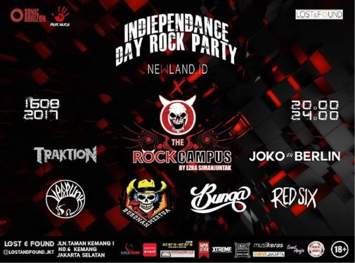 The Rock Campus #88: Indiependence Day Rock Party